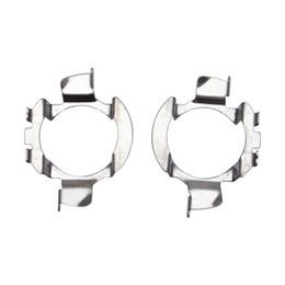 $enCountryForm.capitalKeyWord UK - 2x Car Headlight H7 Halogen to LED Base Adaptor Holder For BMW X5 Audi A4L VW Nissan Qashqai Benz Clip Bulb Sockets #5536