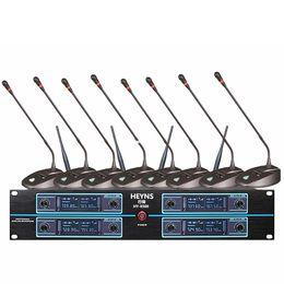 $enCountryForm.capitalKeyWord NZ - ATD HY-8500 New 8x100 Channel UHF Wireless MIC Handheld Head Microphone System Conference mic