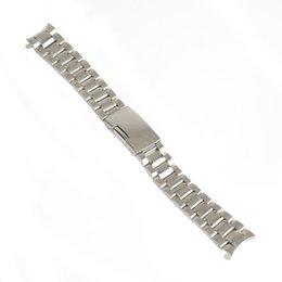$enCountryForm.capitalKeyWord UK - 18mm 20mm 22mm 24mm Stainless Steel Strap Silver Wrist Watch Bracelet With Folding Clasp Hot Men Women Metal Watchband