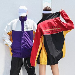 $enCountryForm.capitalKeyWord Australia - 2018 Autumn Harajuku Couples Jacket Coats Men Hip Hop Clothing US Size S-XXL