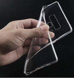 $enCountryForm.capitalKeyWord Australia - For Samsung Galaxy Note 9 transparent Soft TPU cellphone Case Cover with retail package and free shipping