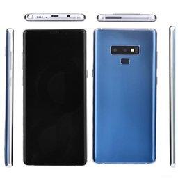 Отпечатков пальцев Goophone N9 Android 8.0 четырехъядерный 1 ГБ оперативной памяти 8 Гб ROM разблокирован мобильный телефон показано 4G LTE окта ядро 4 ГБ оперативной памяти запечатанной коробке