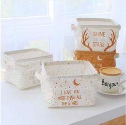 $enCountryForm.capitalKeyWord NZ - The New Makeup Cosmetic Storage Box Kids Toys Storage Barrels Organiser Foldable Container floral Storage Basket AU767