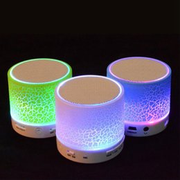 $enCountryForm.capitalKeyWord Australia - Portable LED Bluetooth Speaker A9 LED Night Light TF USB FM Music Audio Wireless Handfree Loudspeakers For phone PC