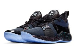 Glitter store online shopping - Hot sales PG Playstation shoes store With Box Top Quality Paul George Basketball Shoes AT7815