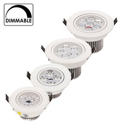 online shopping New W good quality lowest price dimmable led downlight lighting lamp AC110V V led cabinet light lights