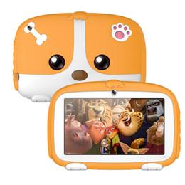 7 Wifi Tablet Australia - ROM512MB 1GB +ROM 8GB 7 inch Allwinner A33 Quad Core Android 6.0 Dual Camera 1024*600 wifi bluetooth Kids Tablet PC