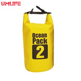 eb7063f7c706 500D PVC Sports Camping Equipment Travel Kit 2L Ocean Pack Portable  Waterproof Outdoor Bag Storage Dry Bag For Canoe Kayak