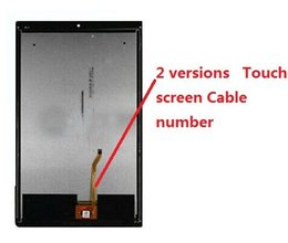 Discount free pro - Wholesale- New For Lenovo Yoga Tab 3 Pro 10.1 YT3-X90L YT3-X90F YT3-X90X X90 Touch Screen Digitizer+LCD Display Assembly