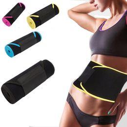 b415047e2 Neoprene Slimming Waist Belts Body Shaper Belly Wrap Waist Support Band  Trimmer Shapewear for Weight Loss Workout Fitness