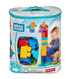 Vente en gros Jouets Cadeaux Bloc Puzzle Fisher blocs de construction grands sacs de 80 grands blocs en plastique plastique jouets DCH63 pour enfants