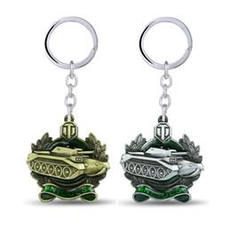 $enCountryForm.capitalKeyWord NZ - Game Gifts World of Tanks Keychain Metal Key Rings For Present Chaveiro Key Chain Jewelry