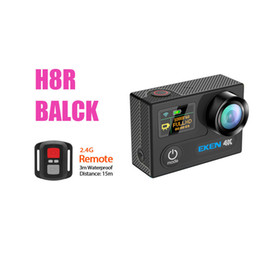 Remote video cameRas online shopping - Original EKEN H8R Ultra HD K fps Video Action Camera with Remote Control inch m waterporoof Mini sport Camera