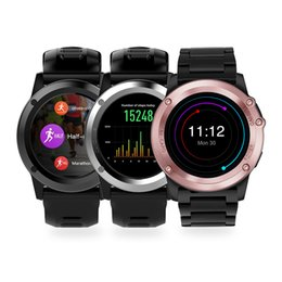 3g Gps Smart Watch NZ - smart watch H1 Android 5.1 OS Smart Watch MTK6572 ip68 waterproof 1.39 inch 400 * 400 gps wifi 3g heart rate 4GB+512MB