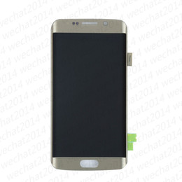 Lcd samsung edge online shopping - LCD Display Touch Screen Digitizer Assembly Replacement Parts for Samsung Galaxy S6 Edge AMOLED G925 G925A G925F