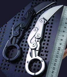 En gros pousser Karambit Multifonctionnel couteau couteau Dague Poinçonner Couteaux multifonction ourdoor Randonnée Camping outil à main survie en Solde