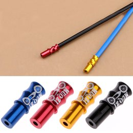 Wholesale 10pc Bike Bicycle Brake Derailleur Shifter Inner Cable Ends Caps Tips colors fits all Brake and Derailleur wire cable ends mm