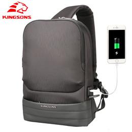 ... KINGSONS Men Travel Chest Bag Sling Bag Casual Anti Theft crossbody bags  for men Fashion Shoulder ... 07c390afacb10