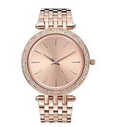 $enCountryForm.capitalKeyWord NZ - Ultra thin rose gold woman diamond watches 2018 brand luxury nurse ladies dresses female stainless stell wristwatch gifts for girls