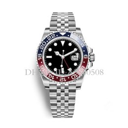 Chinese  2018 Latest New Model Luxury Mens Wristwatch Basel Pepsi Batman GMT Mechanical Watch Automatic Men Watch manufacturers