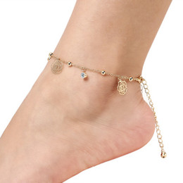 China Hot Sale Anklet Women Foot Bracelet Brand Beach Fashon Leg Bracelet Chain Tornozele Turkish Indian Anklet Beach Party Jewelry Infinity Charm suppliers