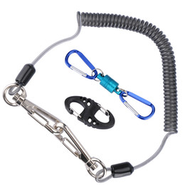 Sink Accessories UK - Rope Goture Tackle Accessories Set Fishing Lanyard Ropes + Magnetic Buckle+ 8-Shape Fast Buckle for Fishing