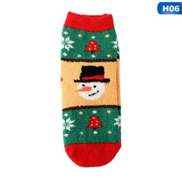 Funny Christmas Socks UK - Men Women Christmas Socks Fashion Casual Women Autumn Winter Christmas Santa Claus Cotton Girls Cartoon Funny Socks Gift