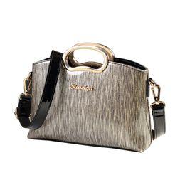$enCountryForm.capitalKeyWord Canada - New fashion women leather handbags designer shell shoulder clutch ladies office work handbag patent leather envelope briefcase