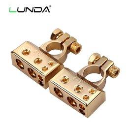 Vente en gros Connecteur de batterie de voiture LUNDA batterie à déconnexion rapide Connecteur de borne de batterie avec capuchons