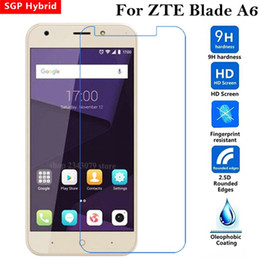 Discount protective phone cases zte - Glass For Zte Blade A6 Glass Tempered Screen Protector Protective Film A 6 Glas Protection Phone Protect 9H 2.5D  Case