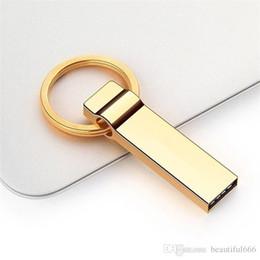 Wholesale Top Real Capacidade Ouro 128GB 3.0 USB Flash Drive Memory Stick Pen Drive
