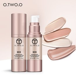 $enCountryForm.capitalKeyWord Canada - O.TWO.O 4Colors Make Up Foundation Beauty Waterproof Flawless Coverage Base Cosmetics Liquid Foundation Cream Makeup Primer