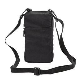 Outdoor Sports Bag Unisex Waterproof Nylon Chest Bag Men Women Running Shoulder  Diagonal 47b6abc4350fa