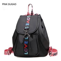 Small waterproof tote bag online shopping - Pink sugao designer backpacks women luxury school bags shoulder backpack school bags for teenage girls waterproof nylon tote bag color
