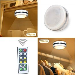 $enCountryForm.capitalKeyWord Australia - Remote Control LED Night Light Wireless Dimmable Bedside Cabinet led lights Battery Operated White Light for Kitchen