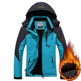 Waterproof Coatings NZ - Mortonpart Women Ski Jacket Winter Windproof Waterproof Warm Fleece Snow Snowboard Outdoor Sports Female Mountain Hiking Coats