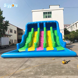 $enCountryForm.capitalKeyWord NZ - YARD En14960 Certificated High Quality Party Commercial Inflatable Three Lane Water Slide Pool For Kids And Adult