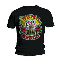 Guns n Roses Cartões Slash Axl Rose Rock Licenciado T-Shirt Homens T-Shirt venda por atacado