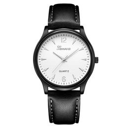 Orologi analogici al quarzo di vetro al quarzo blu da uomo in pelle sintetica di moda di lusso orologi meccanici automatici di lusso