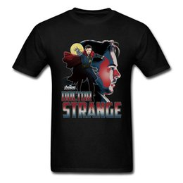 boyfriends shirt Australia - Top Dr. Strange T Shirts Men Avengers League T Shirt Infinity War Clothing Boyfriend Gift Tshirt Awesome Summer Clothes