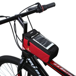 Black Case For Iphone 4s Australia - YANHO Cycling Bike Bicycle Phone Case Frame Front Tube Bag For iPhone 4 4S 5 Blue Red Gray  Black  Orange