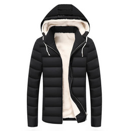 cd681c8e5c1 Men Winter Jackets and Coats Hooded Thermal Down Cotton Parkas Thicken  Jacket With Fur Inside Parkas Men Clothing Hoodies Jacket
