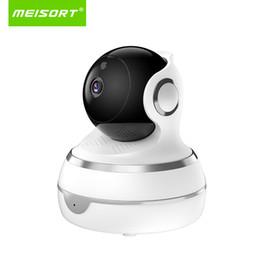 Audio Tracks Australia - IP Camera 1080P 720P Two Way Audio Wifi Camera Night Vision Motion Detection Alrt 110 Human Tracking Baby Monitor Meisort IPC07