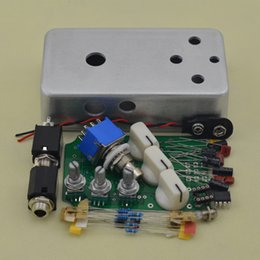 Discount diy pedal kit - DIY Distortion Pedal Stomp box kit True ByPass full Metal distortion pedal FREE SHIPPING