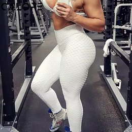 8450db987a614 2018 women Hot Yoga Pants Printed Sport leggings Push Up Running Tights Gym  Exercise pants High Waist Fitness Athletic Trousers