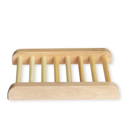 $enCountryForm.capitalKeyWord UK - Natural Bamboo Wooden Soap Dishes Wooden Soap Tray Holder Storage Soap Rack Plate Box Container for Bath Shower Bathroom