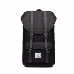 Pink backPack Prices online shopping - 2017 New Arrival Price Herschel Backpack Bags Black Blue Gray High Fashion Limited Sport Outdoor Packs