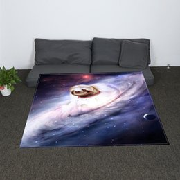 Chinese  Digital Print Star Panda Panda Throw Blanket Galaxy Printed Sherpa Blanket for Couch Landscape Bedding Throw manufacturers