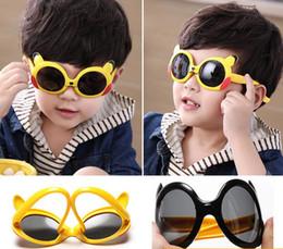 2018 Новые Cute поляризующие солнечные очки детей, солнечные очки детей шаржа 8124 dhl освобождают перевозку груза