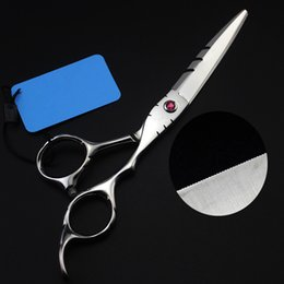 $enCountryForm.capitalKeyWord NZ - New professional Japan 440c 5.5   6 inch Laser wire hair scissors serrated blades cutting barber shears hairdressing scissors